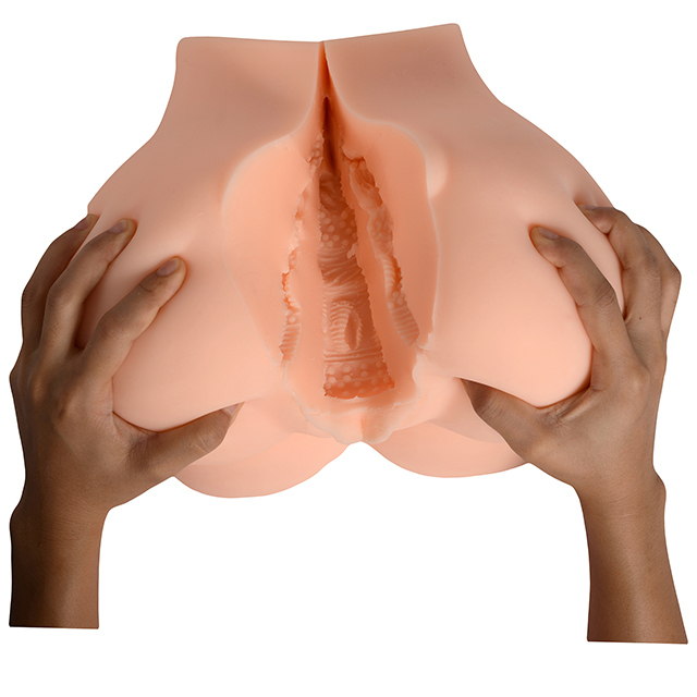 Real Silicone Sex Products Artificial Vagina and Anal Big Ass