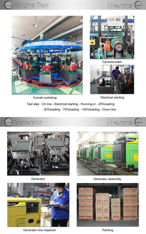 3kw Silent Diesel Engine Power Generator Set Price