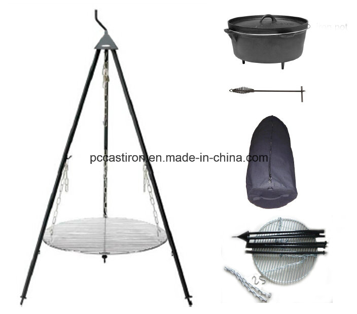 OEM Outdoor Camping Dutch Oven Tripod China Factory