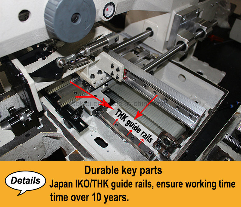 Automatic Pattern Sewing Machine for Shoes Upper Decorative Seaming