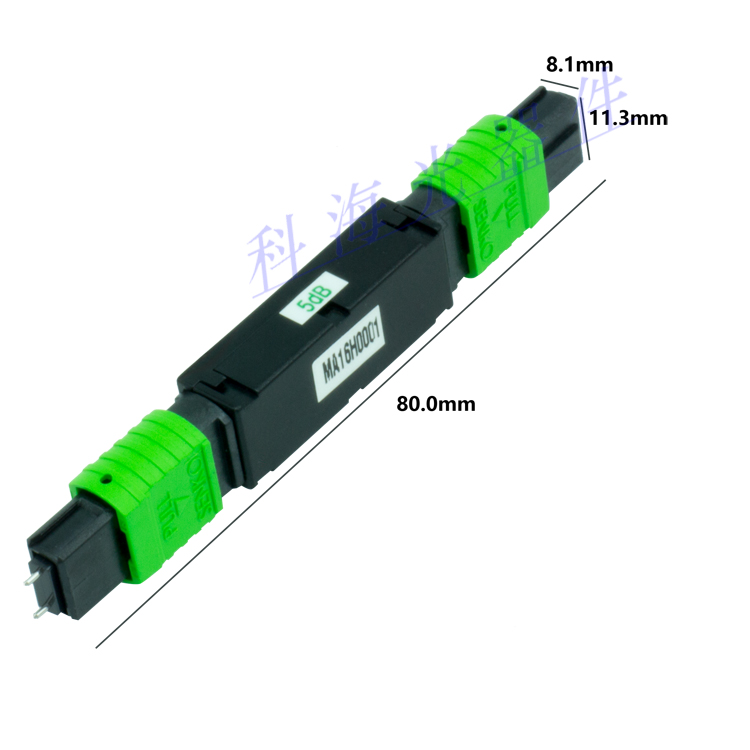 MPO Attenuator for Fiber Optic Connection