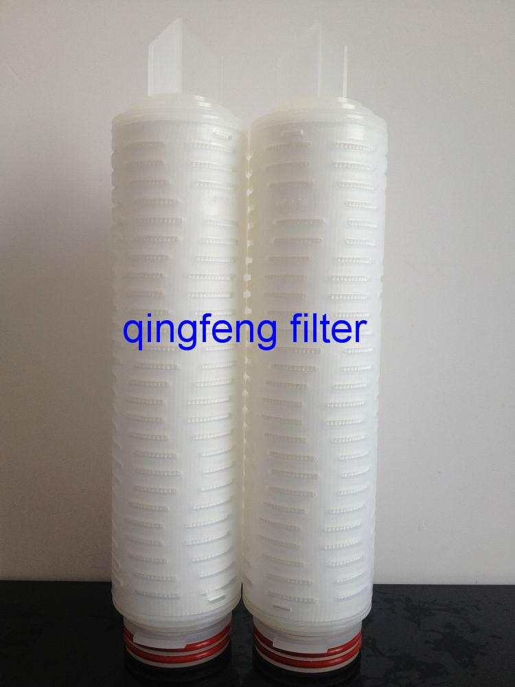 SGS 0.2um 3.0 Micron PP gefaltete 10-Zoll-Filterpatrone zur Wasseraufbereitung