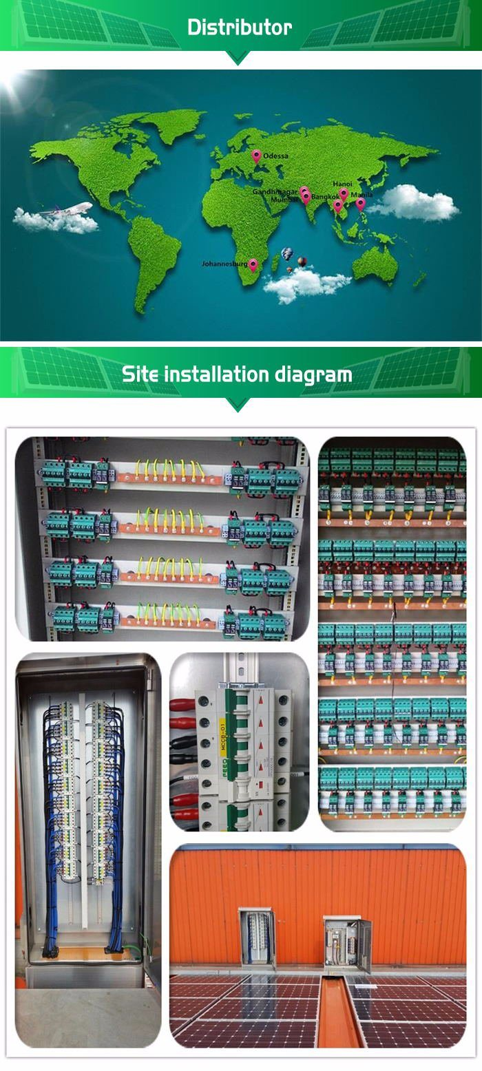 Photoelectricity Solar System SPD Surge Protection Device