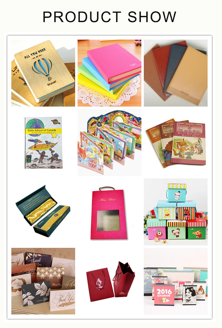 Factory Outlet Customised Statioery Softcover Notebook Printing