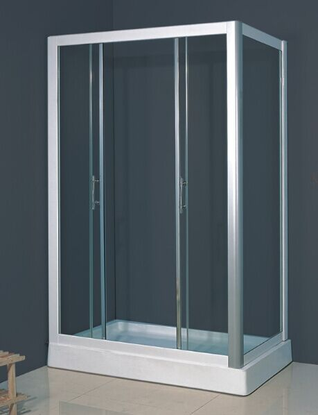 New Design Simple Glass Bath Screen (ADL-8019B)