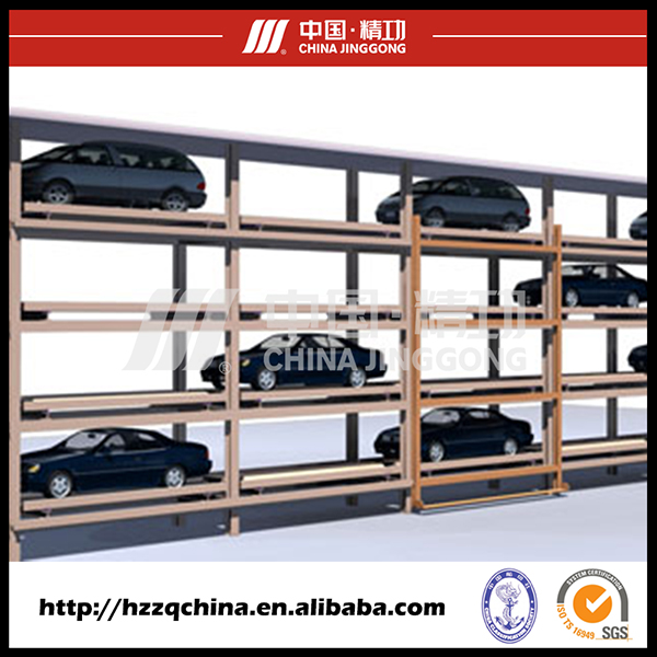 Carport Type Multi-Layer Parking System Automated Puzzle Car Parking Garage