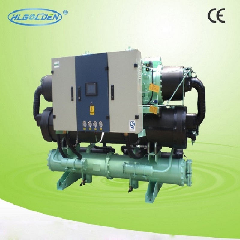 High Quality Water Cooled Screw-Type Industrial Water Chiller