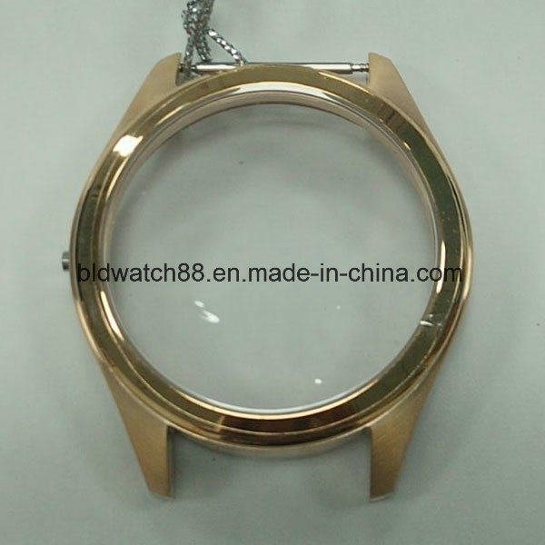 High Quality 316L Stainless Steel Watch Case with Crystals
