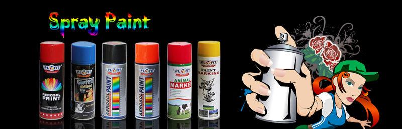 All Purpose Car Auto Aerosol Spray Paint Factory