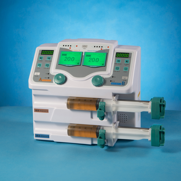 Factory Price of Medical and Clinical Syringe Pump (Double Channel)