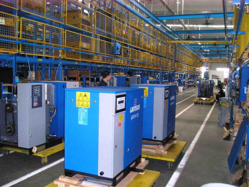Atlas Copco Liutech Diesel Driven Portable Air Compressor