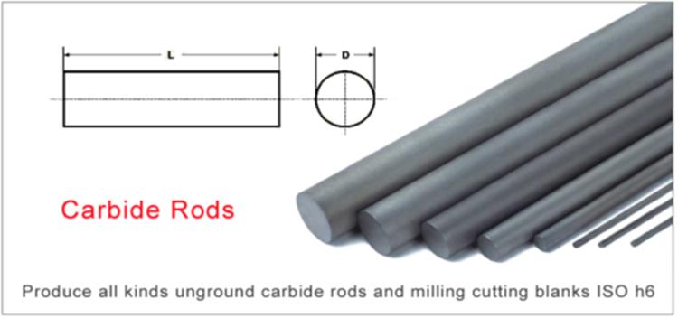 Dia 1.0~3.2 Tungsten Cemented Carbide Round Bar Power Tool