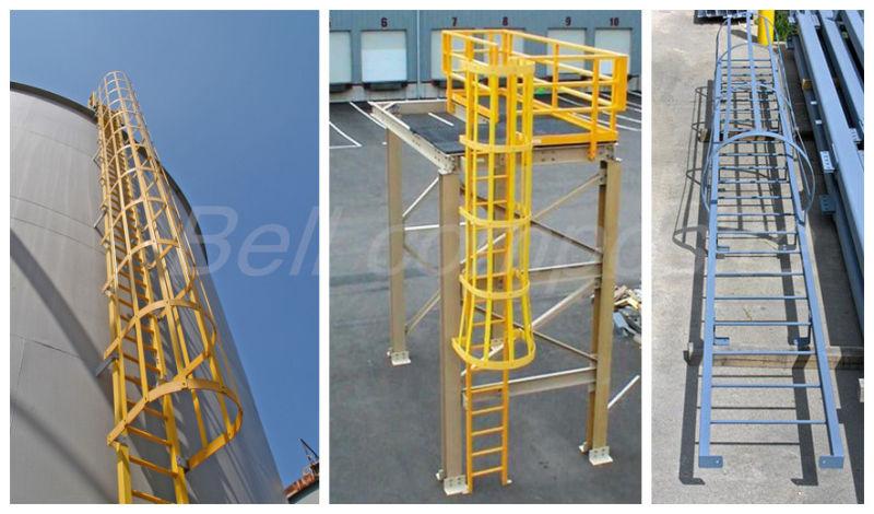 FRP Handrail/Building Material/Fiberglass Ladder/Work Ladder