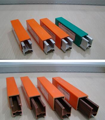 Insulated Copper Aluminum Conductor Rail Sliding Contact Lines