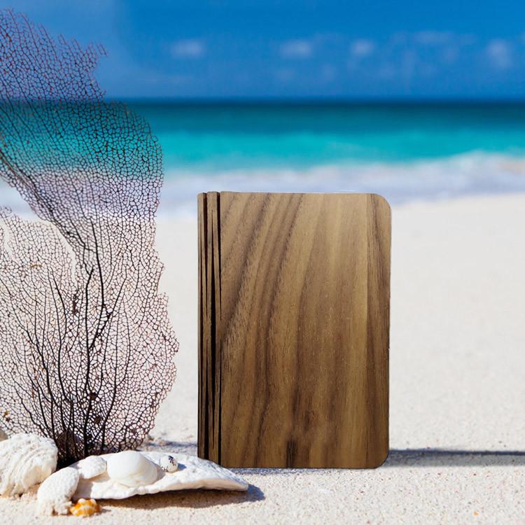 100% Environmental USB Foldable Decoration Light Book Shaped Table Lamp