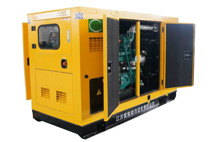 30kw Soundproof Electric Cummins Diesel Generator