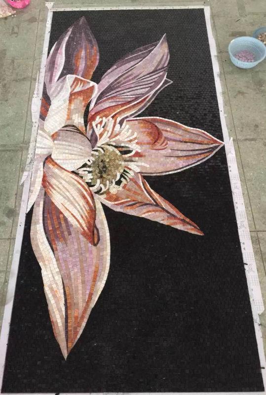Art Mosaic Picture, Art Mosaic, Mosaic Mural (HMP903)