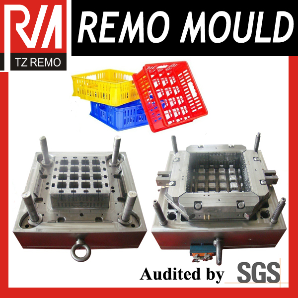 Hot Sale PP Injection Bottle Crate Mould