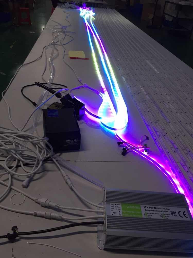 Flexible DC12V LED Strip White RGB Waterproof Christmas Lighting