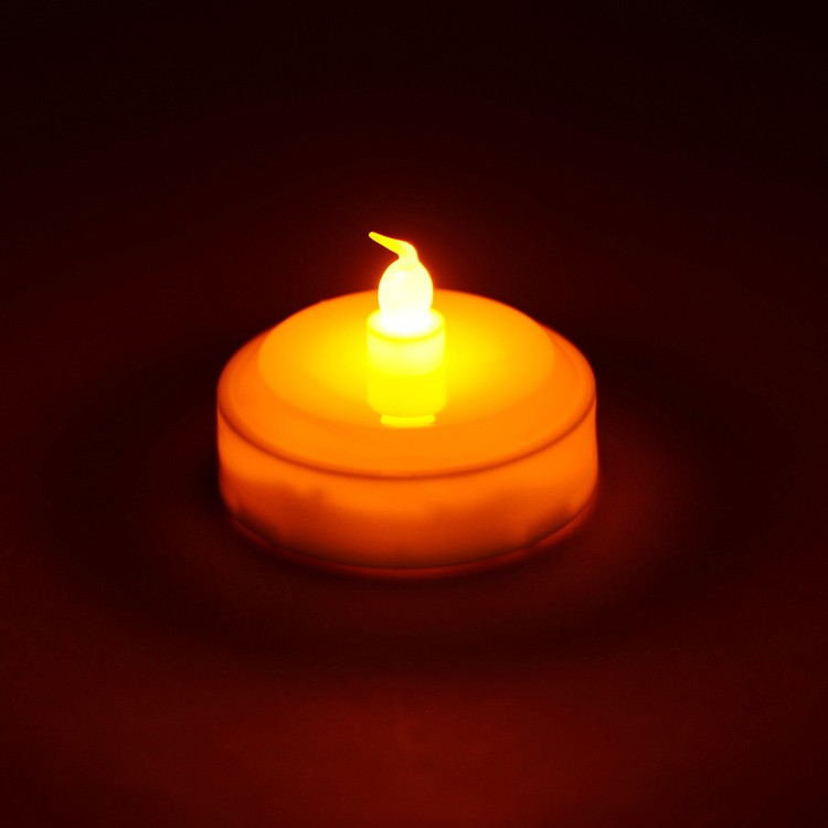 White Floating LED Candle