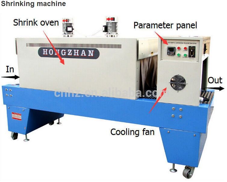 St6030 Top Sale PE Film Shrink Packing Machine