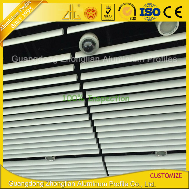 Customized Aluminium Extrusion Profile Aluminium Louvers /Shutters for Windows