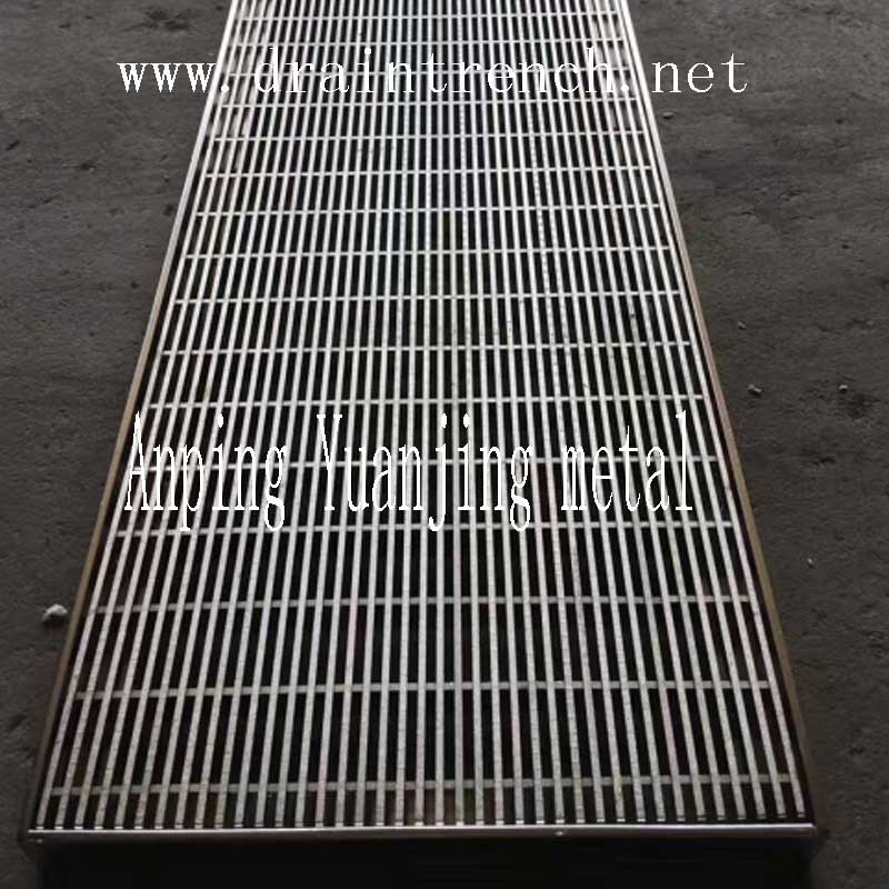 Shower Drainer, Steel Grating Drainage