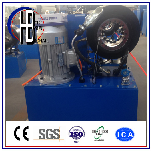 Ce Approved Finn Power Techmaflex Uniflex 1/4''~2'' Hydraulic Hose Crimping Machine