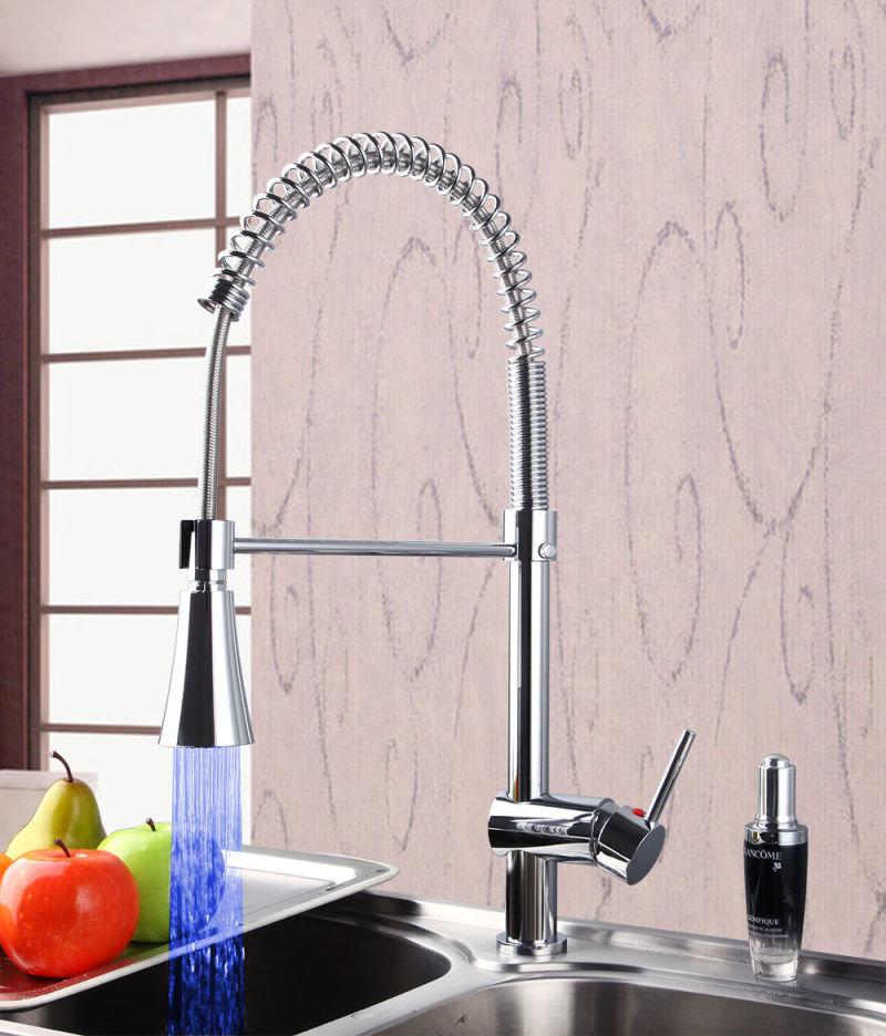 Classic Ce Pull out Kitchen LED Mixer