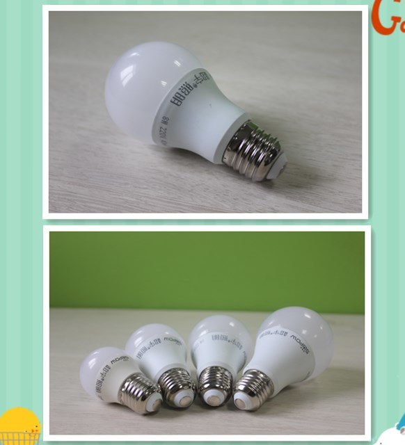LED bulb Lamp 3W 5W 7W PC High Power Light