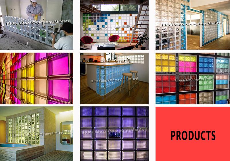 190*190*80mm Dogona Glass Block
