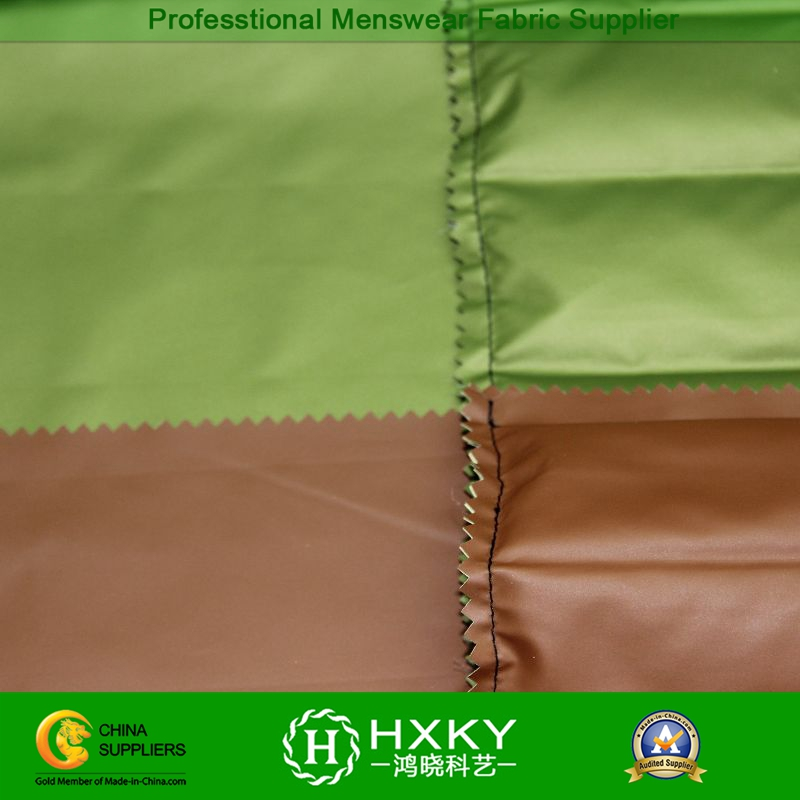 PU Coating with Double Layered Compound Polyester Fabric