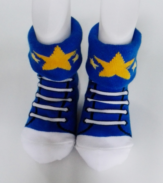 Unique Design Colorful Cotton Non-Skid Soles Children Shoes Socks