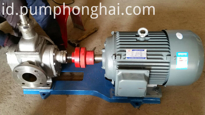 YCB heat preservation resin gear pump