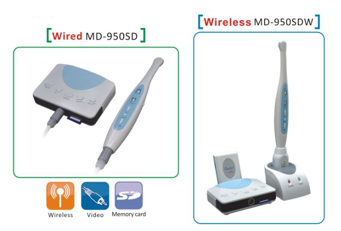 Intraoral Camera with SD Card Memory Dental Machine