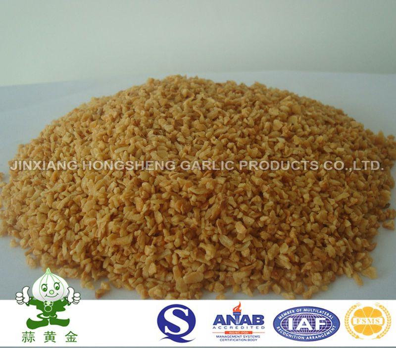 Fried Garlic Granules Crisp From China