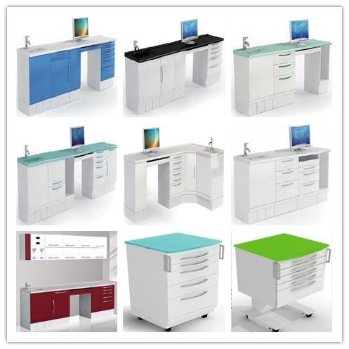 Ce Certification Medical Equipments New Design Dental Cabinets