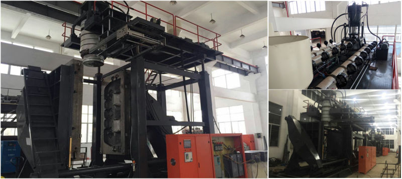 3000L Multiple Layers Extruder Plastic Container Making Machine