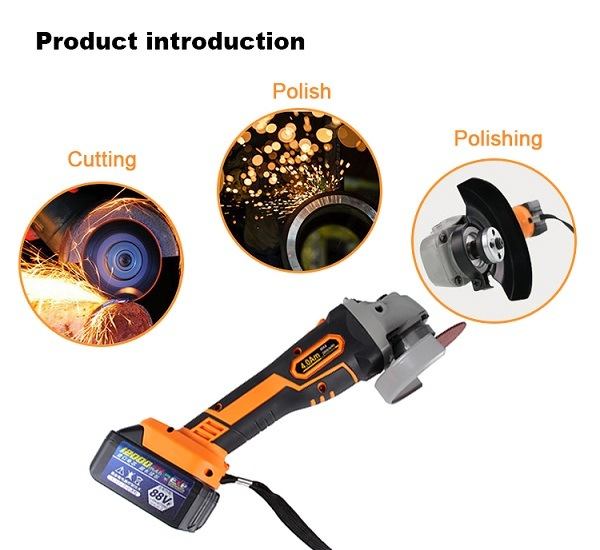 Electric/Power Tool Angle Grinder Manufacturers Cordless Angle Grinder Price in China