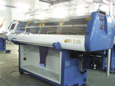 12 Gauge Computerized Flat Knitting Machine (TL-252S)