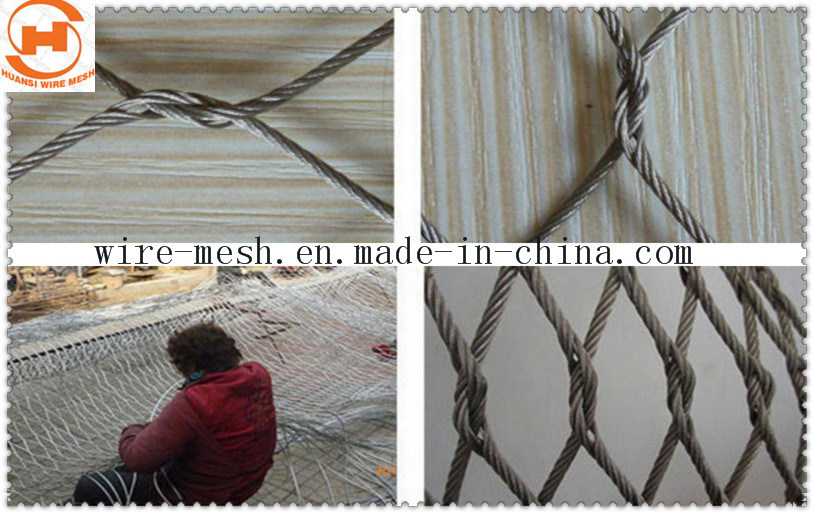 Ferrule Type Wire Rope Mesh Fence
