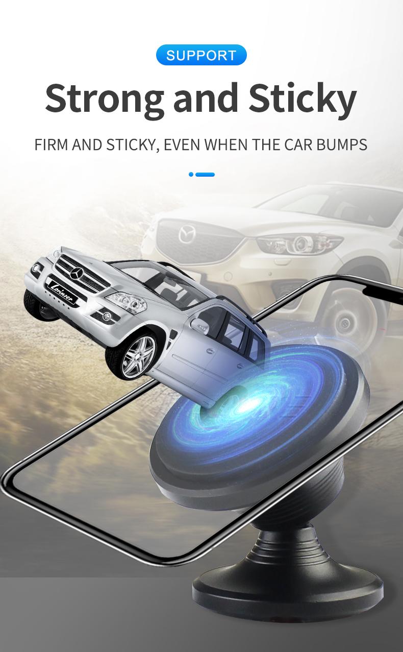 Vava magnetic phone holder for car dashboard