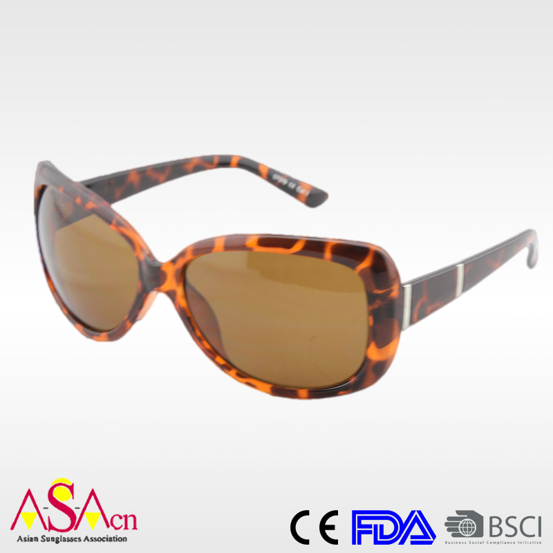 Best Designer Promotion Fashion Womens Polarized Sunglasses with CE Certificate