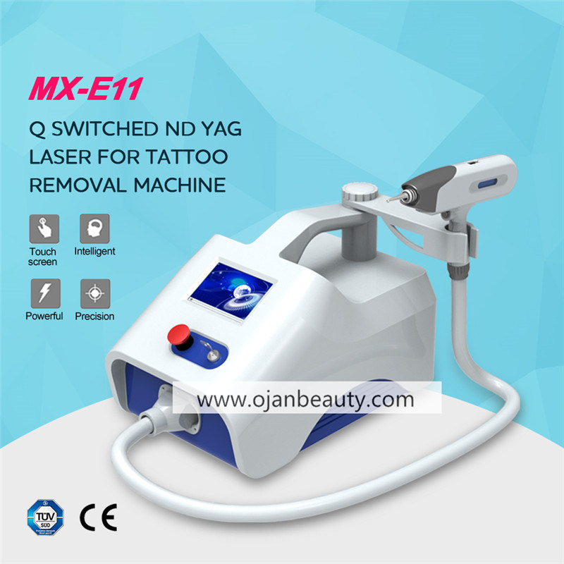 Chinese Factory Q-Switched ND: YAG Laser Tattoo Removal Machine