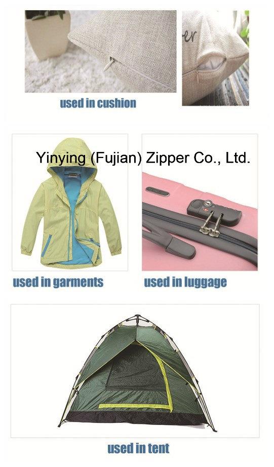 Nylon Long Chain Zipper