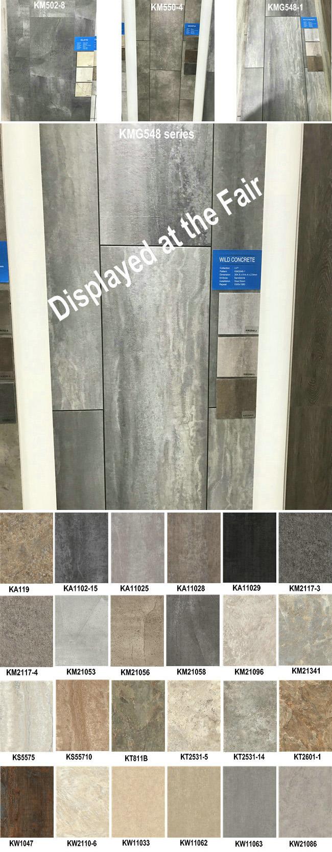 Stone Pattern PVC Vinyl Flooring