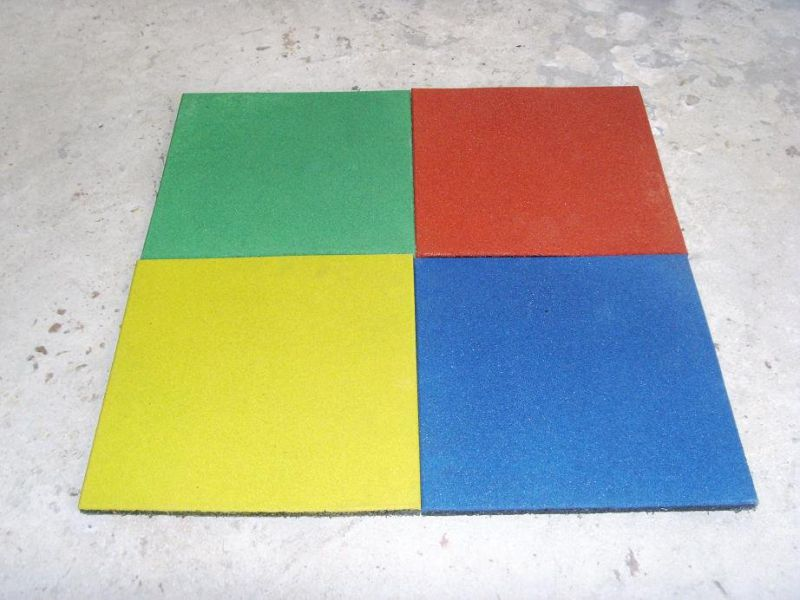 Gym Rubber Floor Mat, Children Rubber Flooring Rubber Tile