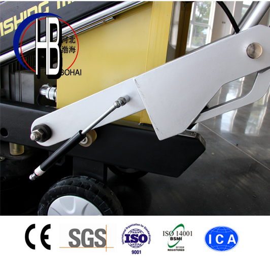 700mm Work Area Concrete Floor Grinding and Polishing Machine with 300~1500rpm