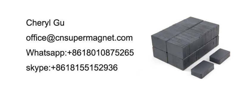 Y10t Sintered Hard Ferrite Magnet