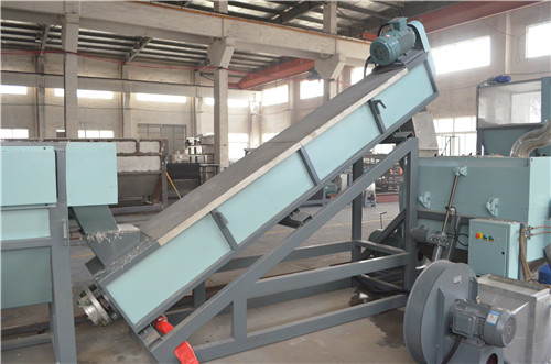 300kg/Hr PP PE Plastic Film Flake Washing Recycling Machine